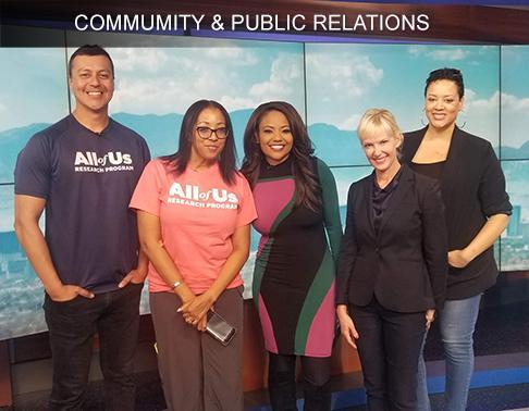 Community & Public Relations
